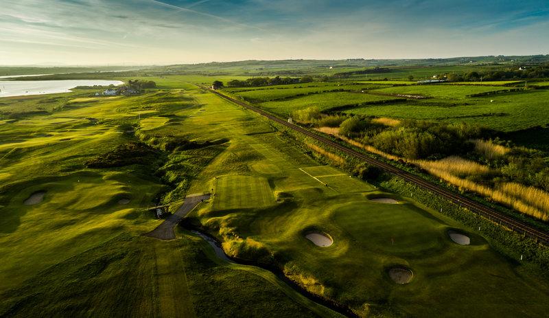 5th Hole Mussenden Course Castlerock Golf Club